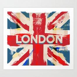 bd11d15baf Vintage London Union Poster Art Print