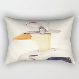 Justice Ducks - The Hero Rectangular Pillow