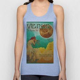 Venus - A Mucha Style Art Nouveau Interpretation Unisex Tank Top