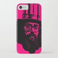literature iPhone & iPod Cases featuring Outlaws of Literature (Allen Ginsberg) by Silvio Ledbetter