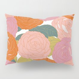 Flowers In Full Bloom Pillow Sham