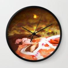 Lake of the Geisha Wall Clock