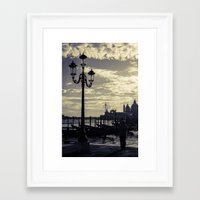 venice Framed Art Prints featuring Venice. by Michelle McConnell