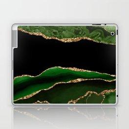 Emerald Marble Glamour Landscapes Laptop & iPad Skin
