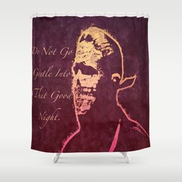 When It's Dark Out Shower Curtain