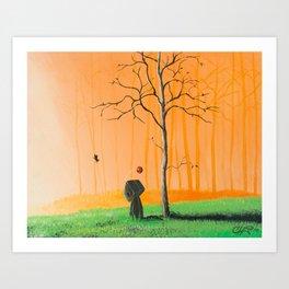 I remember us Art Print