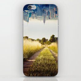 Meadows and City iPhone Skin