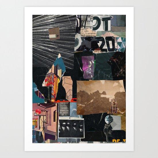 1000 Rondelles Art Print