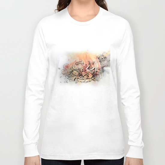 destruction Long Sleeve T-shirt