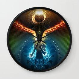 Lucid Synchronized Dimensionalism Wall Clock