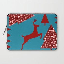 Reindeer blue Laptop Sleeve