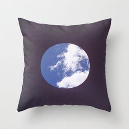 Sky Hole Throw Pillow