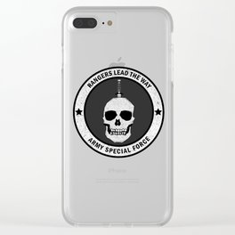 ARMY Clear iPhone Case