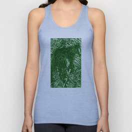 Abstract Buford Charging Unisex Tank Top