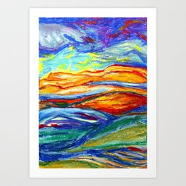 Presence Art Print