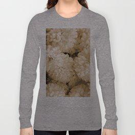 Monochrome Abstract Mums Long Sleeve T-shirt