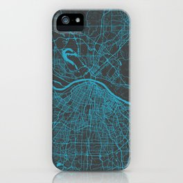 Saint Louis Map iPhone Case