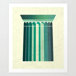 Doric Art Print