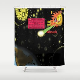 Title: Bird of Steel Comix - Page #2 of 8 (Society 6 POP-ART COLLECTION SERIES) Shower Curtain