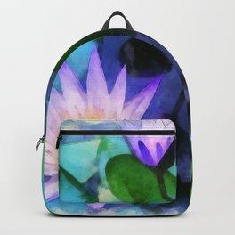 Purple Lotus Backpack