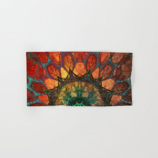 Sun Mandala Hand & Bath Towel