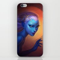 elf iPhone & iPod Skins featuring Elf by Amanda Kihlström