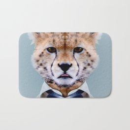 Fashion cheetah Bath Mat