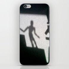 Shadow of the mannikin iPhone & iPod Skin