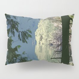 EVENING LIGHT AT THE HEAD OF THE LAKE Pillow Sham
