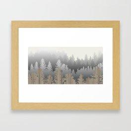 Treescape Large Framed Art Print