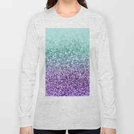 Mermaid Girls Glitter #9 #shiny #decor #art #society6 Long Sleeve T-shirt