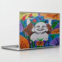 buddah Laptop & iPad Skins featuring WEDDING BUDDAH-2 by Manuel Estrela 113 Art Miami