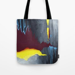 Inside Crystal Mountain Tote Bag