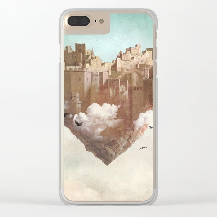 My Heart Is My Castle Clear iPhone Case