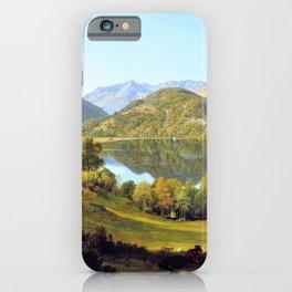 Ullswater, Early Morning - John Glover iPhone Case