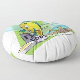 Food! Floor Pillow