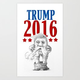 Trump 2016 Art Print