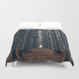 Cathedral of Pines Duvet Cover