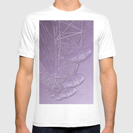 Embossed London Eye T-shirt