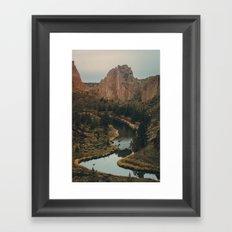 Smith Rock Framed Art Print
