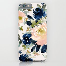 LANGUID AF Romantic Sexy Floral iPhone Case