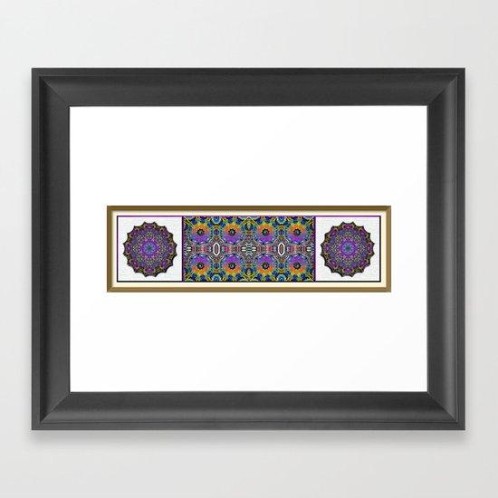 Mandarin Garden Framed Art Print