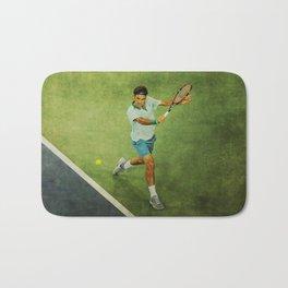 Roger Federer Tennis Backhand Bath Mat