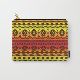 bright ethnic ornament Carry-All Pouch