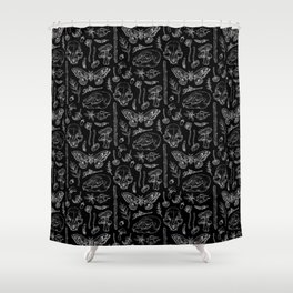Witchcraft II [B&W] Shower Curtain