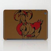 fat iPad Cases featuring Fat Goat by Esmeralda Snaphaan