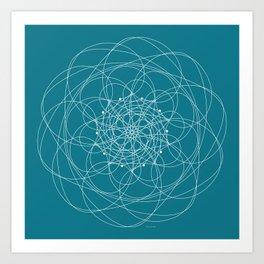 Ornament – Morphing Blossom Art Print