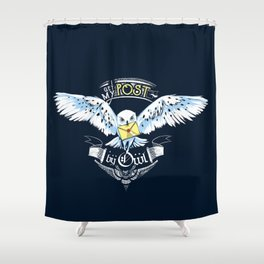 Owl Post Shower Curtain