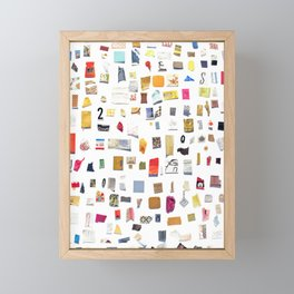 Out of Merely Not Nothing Framed Mini Art Print