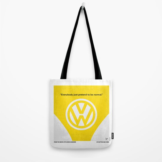 No103 My Little Miss Sunshine movie poster Tote Bag